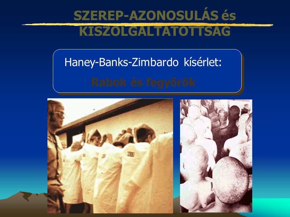 SZEREP-AZONOSULÁS és KISZOLGÁLTATOTTSÁG