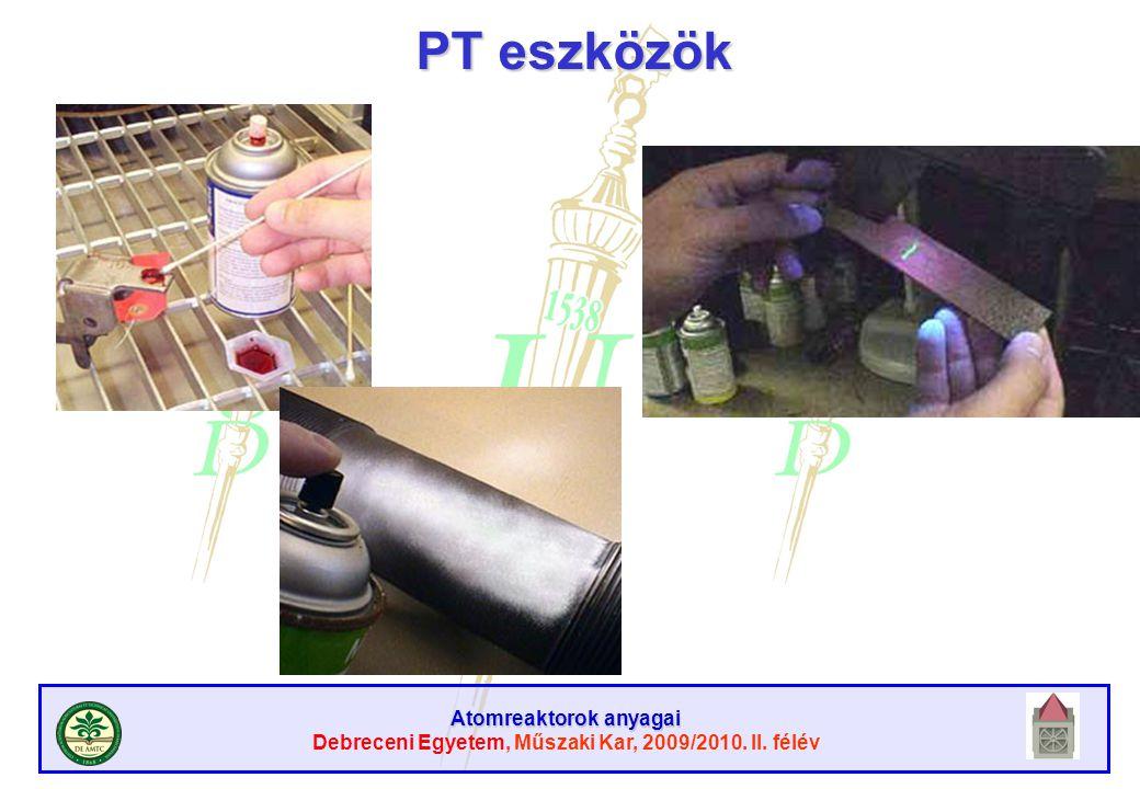 PT eszközök