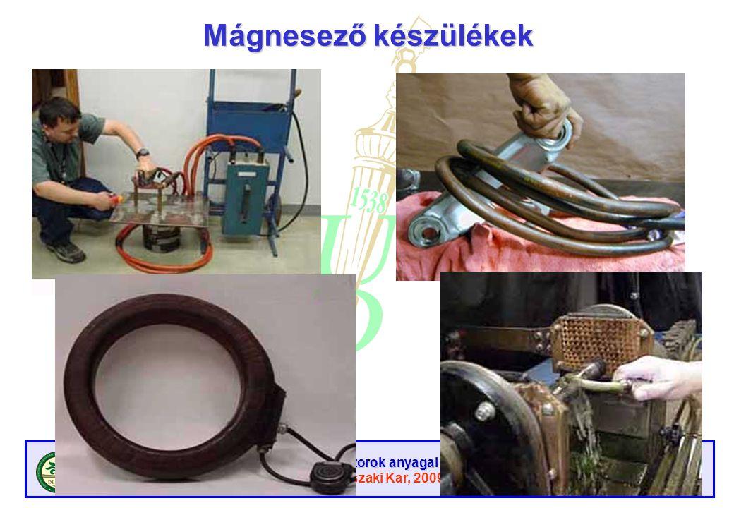 Mágnesező készülékek