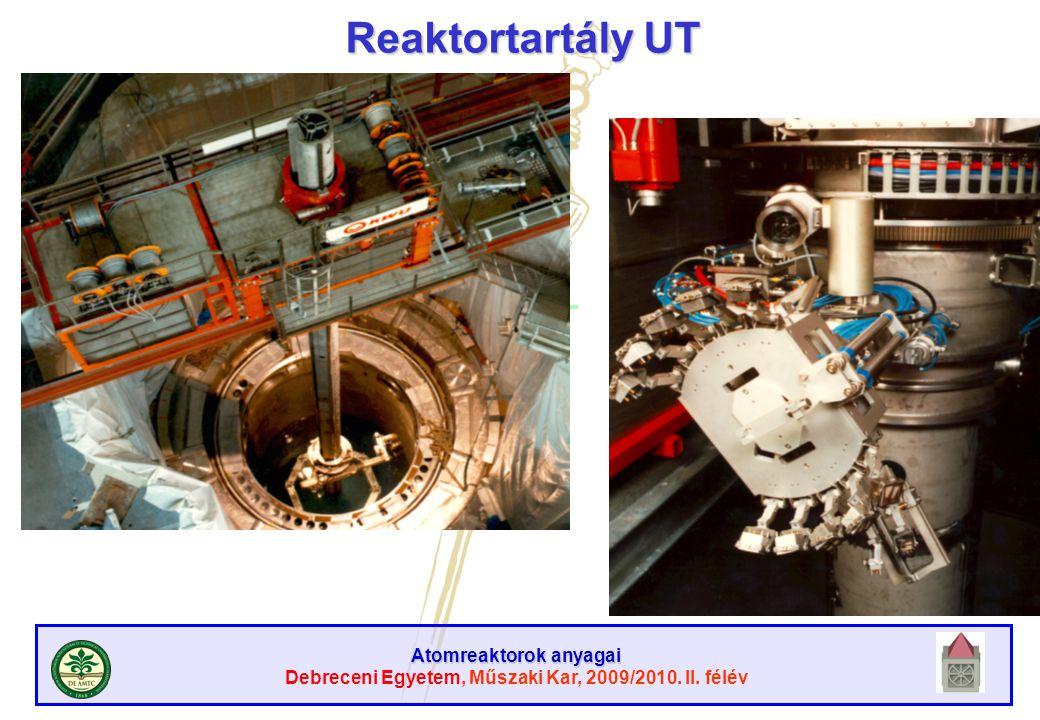 Reaktortartály UT