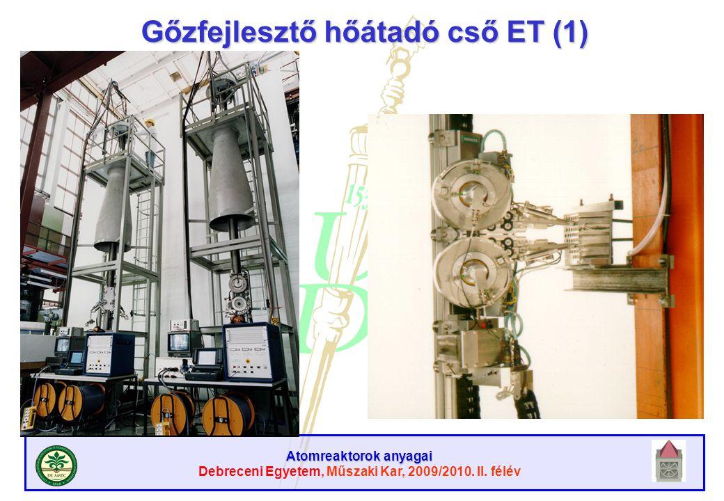 Gőzfejlesztő hőátadó cső ET (1)