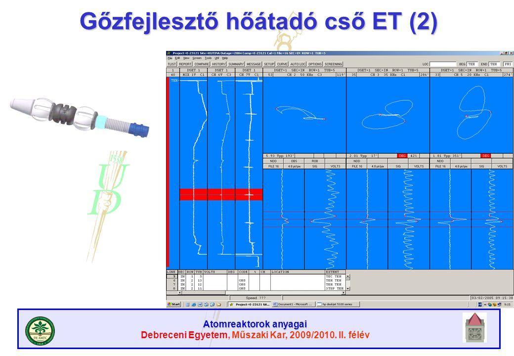 Gőzfejlesztő hőátadó cső ET (2)