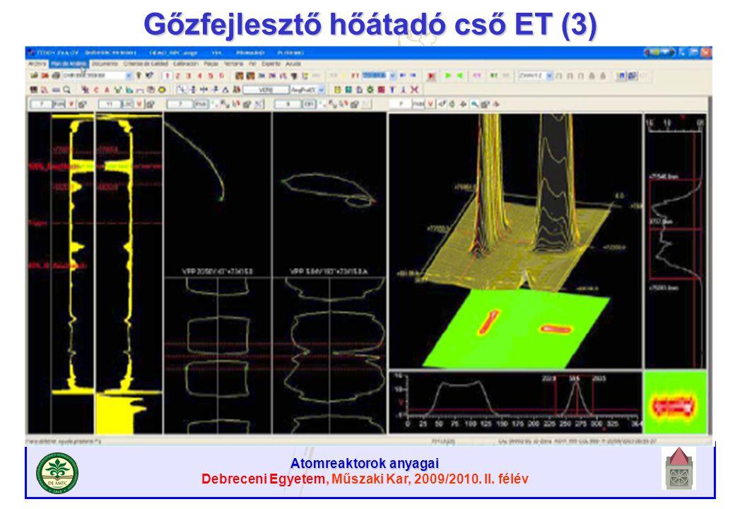 Gőzfejlesztő hőátadó cső ET (3)