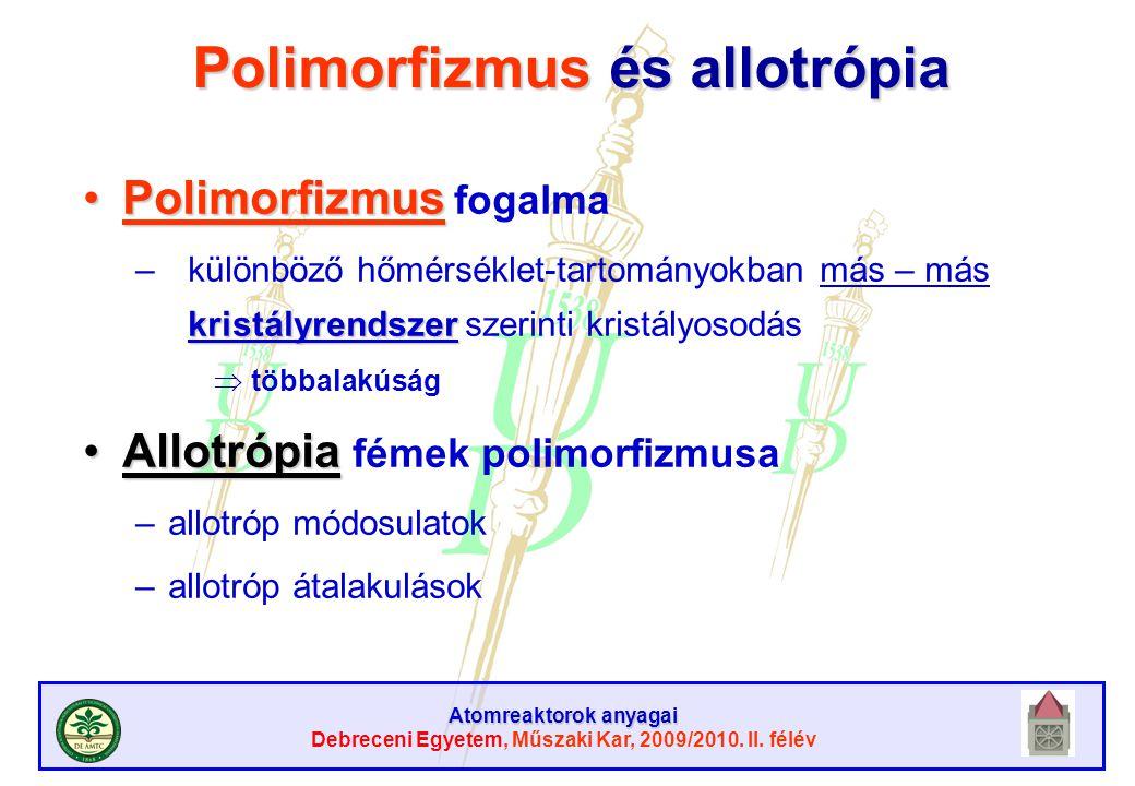Polimorfizmus és allotrópia