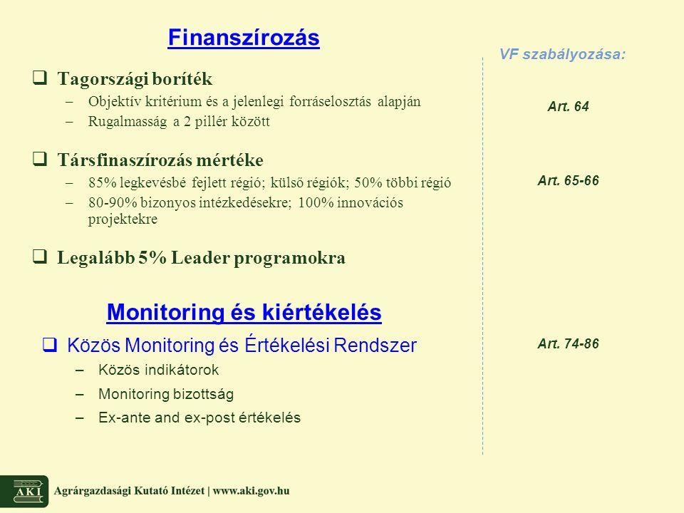 Monitoring és kiértékelés