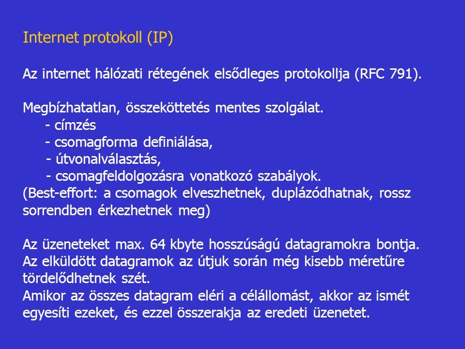 Internet protokoll (IP)