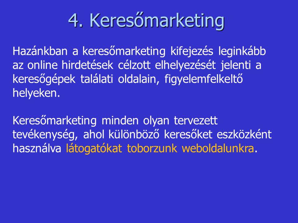 4. Keresőmarketing
