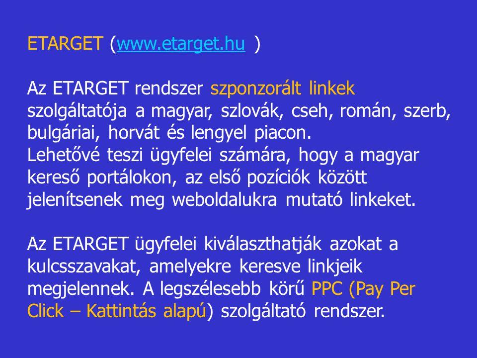 ETARGET (www.etarget.hu )