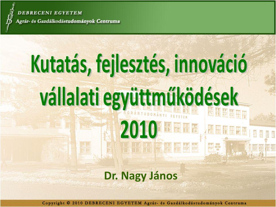 Kutatás, fejlesztés, innováció vállalati együttműködések