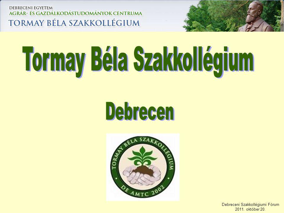 Tormay Béla Szakkollégium
