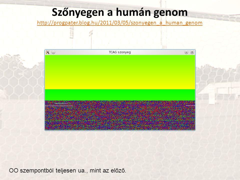 Szőnyegen a humán genom