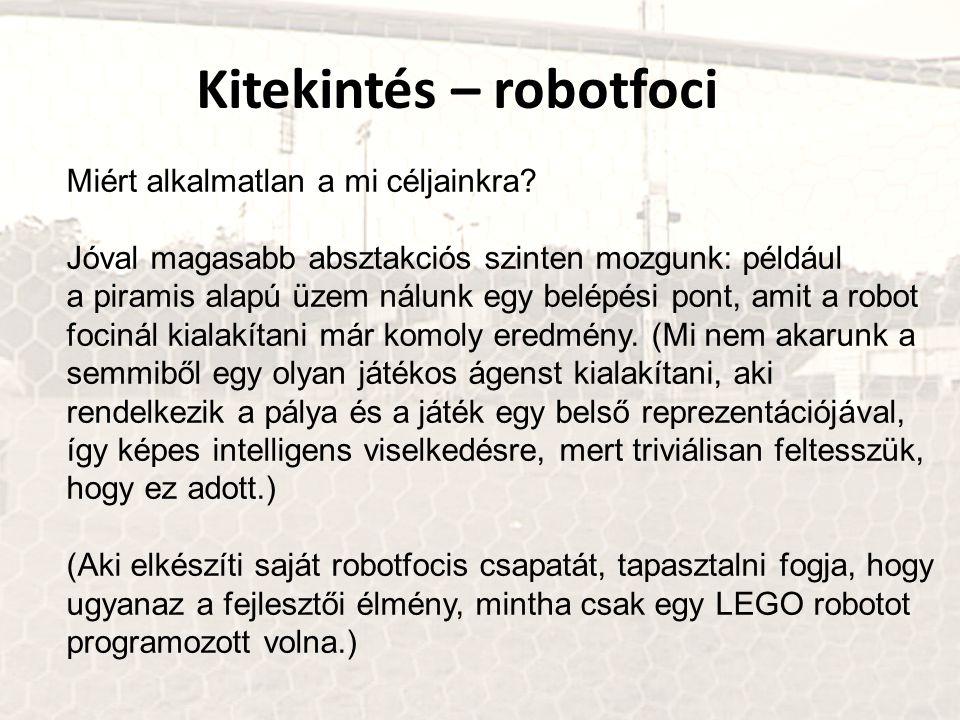 Kitekintés – robotfoci