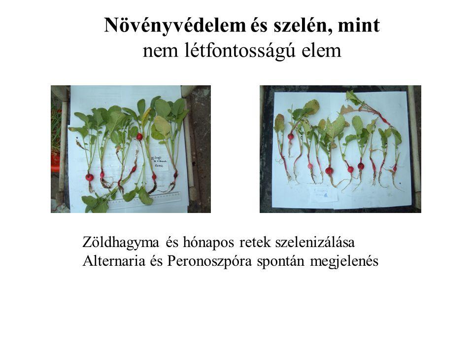 Növényvédelem és szelén, mint nem létfontosságú elem