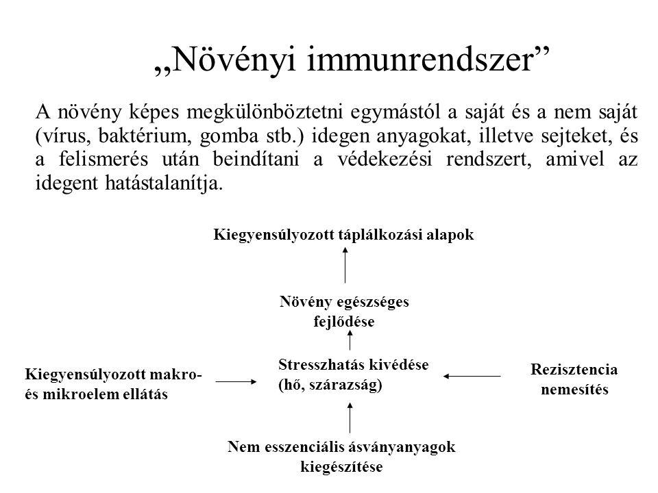 """""""Növényi immunrendszer"""