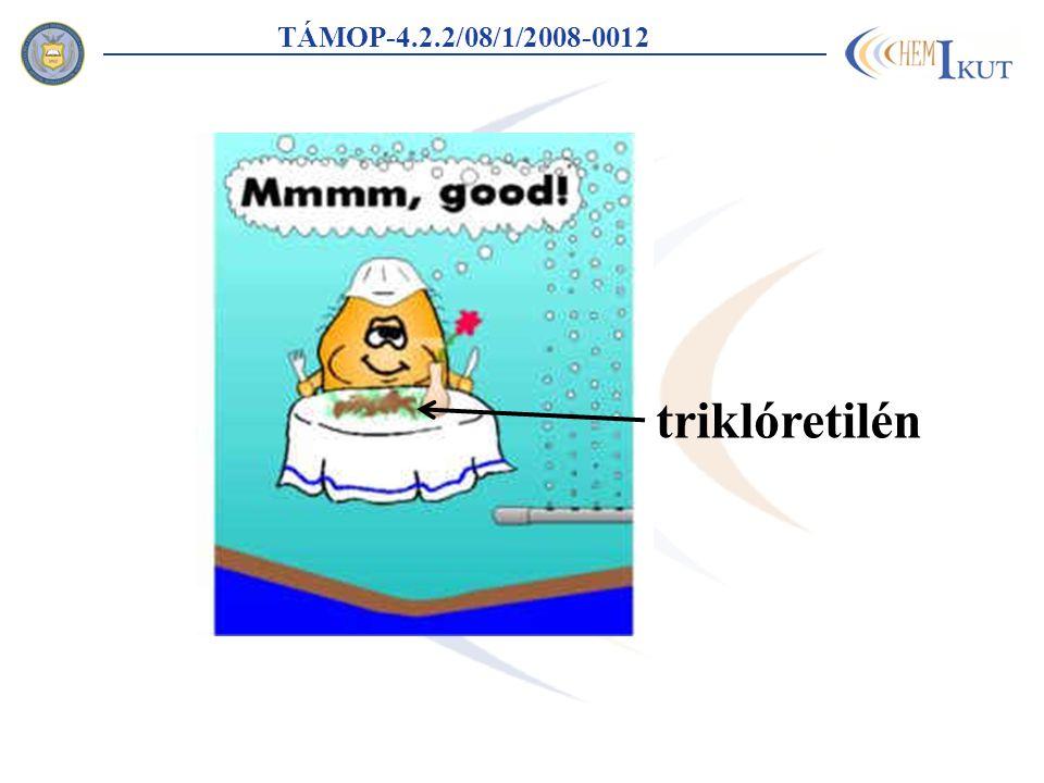 TÁMOP-4.2.2/08/1/2008-0012 triklóretilén