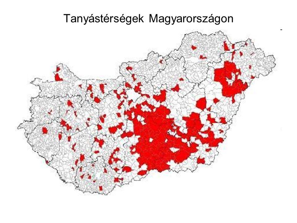 Tanyástérségek Magyarországon