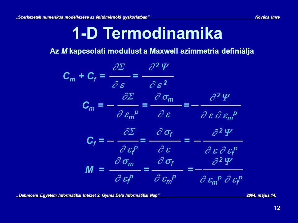 """""""Szerkezetek numerikus modellezése az építőmérnöki gyakorlatban"""