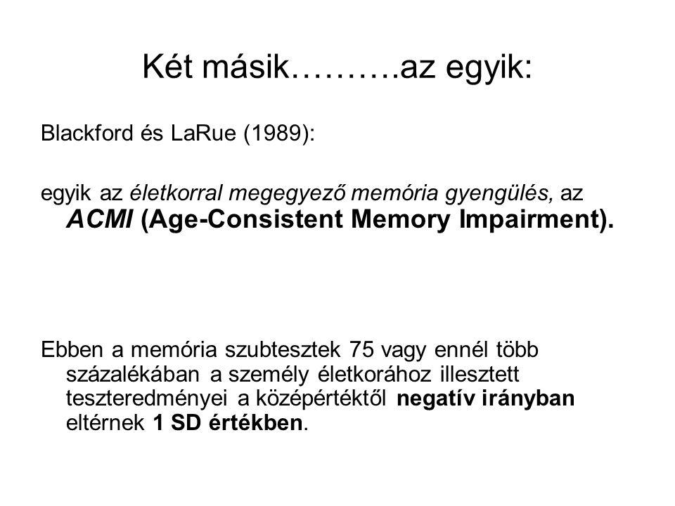 Két másik……….az egyik: Blackford és LaRue (1989):