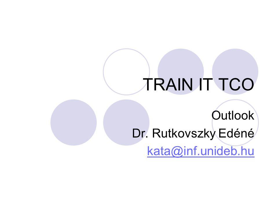 Outlook Dr. Rutkovszky Edéné kata@inf.unideb.hu