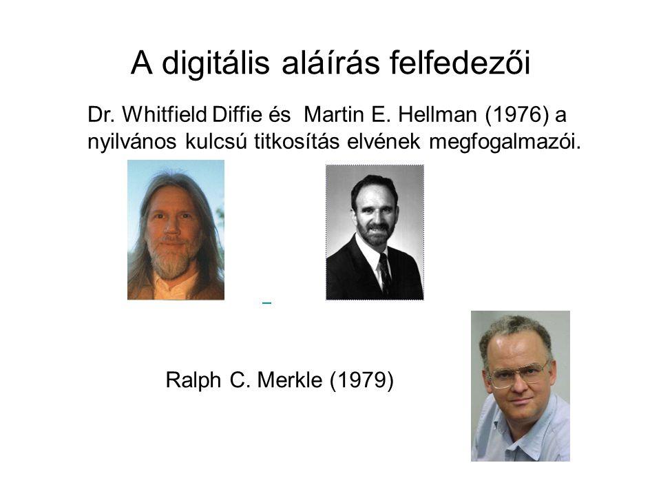 A digitális aláírás felfedezői