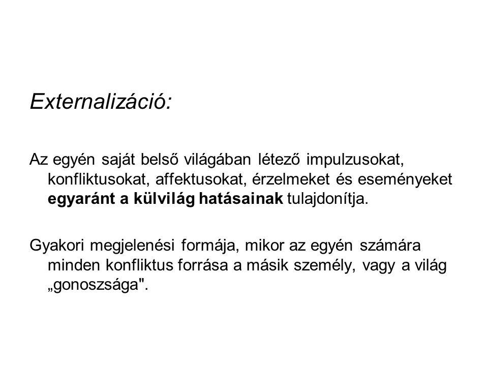Externalizáció: