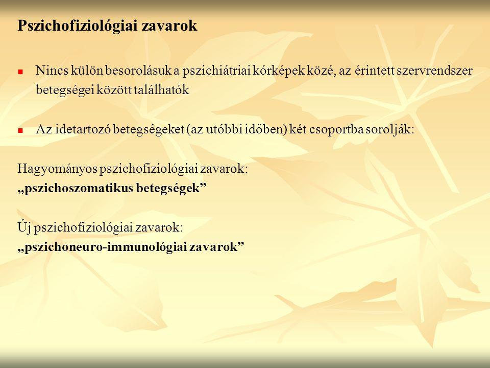 Pszichofiziológiai zavarok