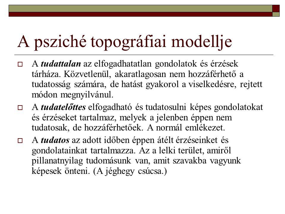 A psziché topográfiai modellje