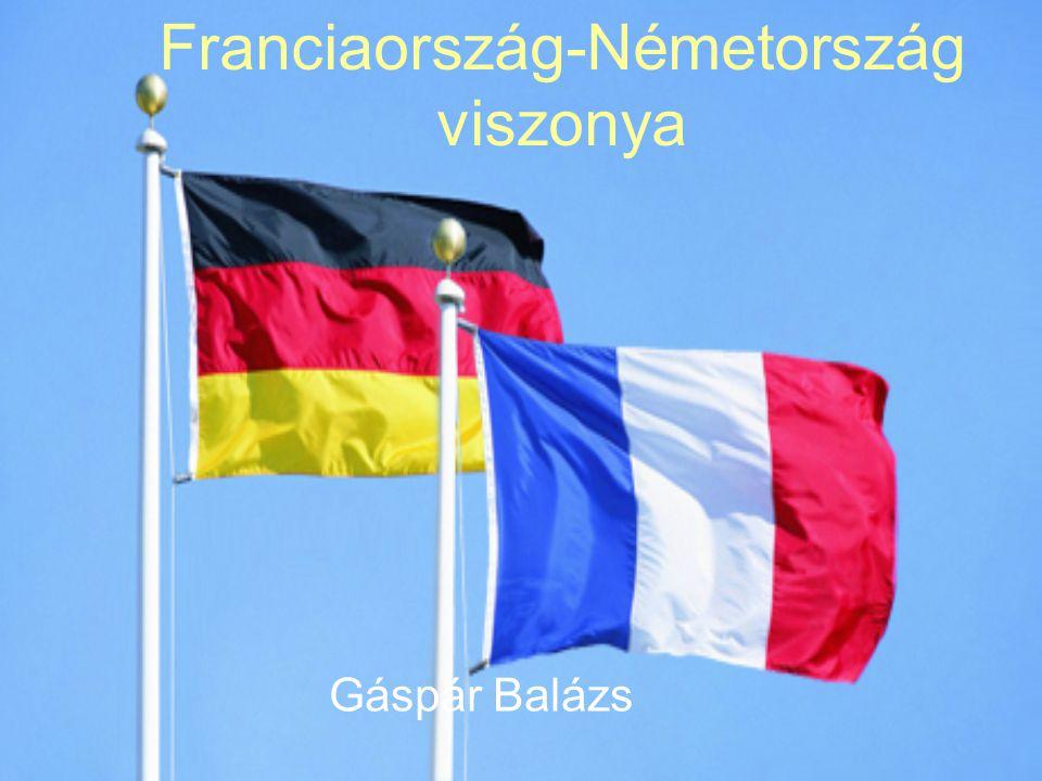 Franciaország-Németország viszonya