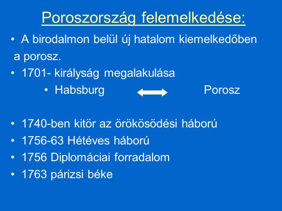 Poroszország felemelkedése: