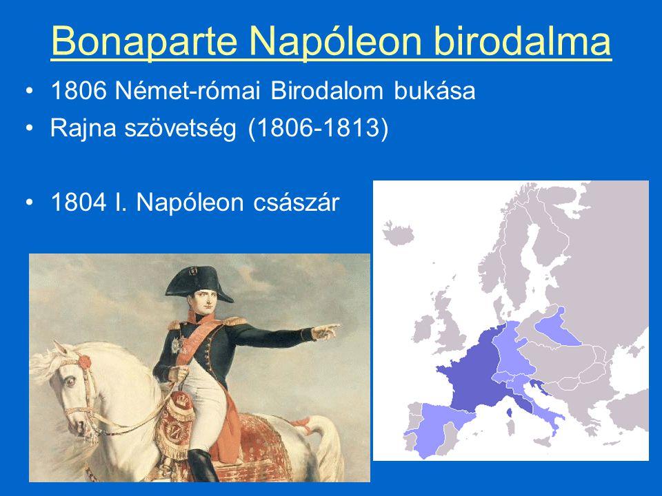 Bonaparte Napóleon birodalma