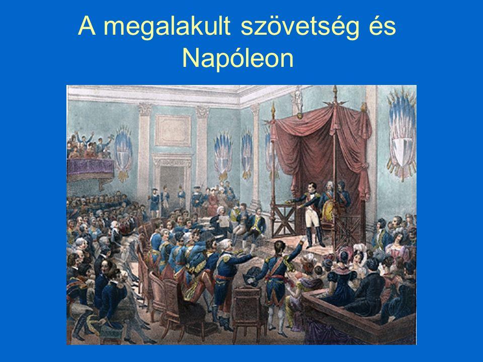 A megalakult szövetség és Napóleon