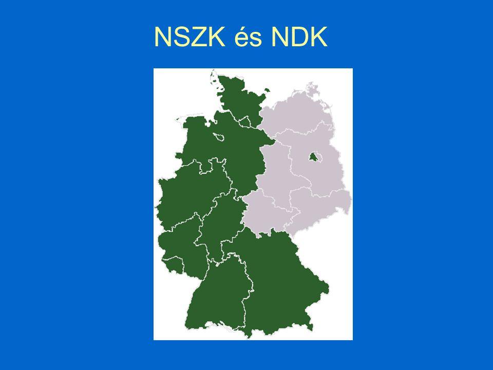 NSZK és NDK