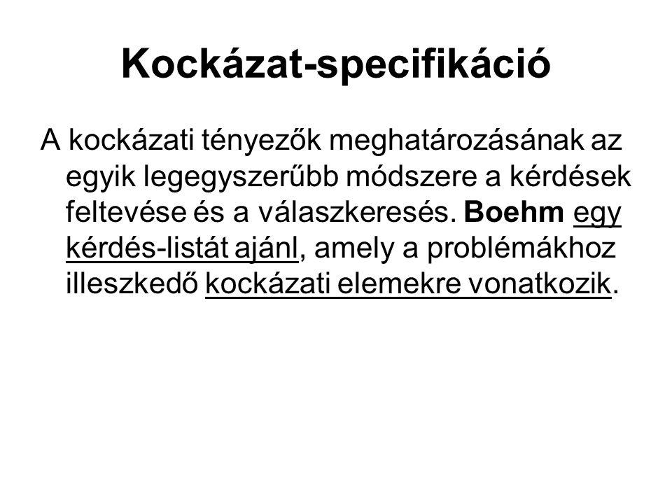 Kockázat-specifikáció