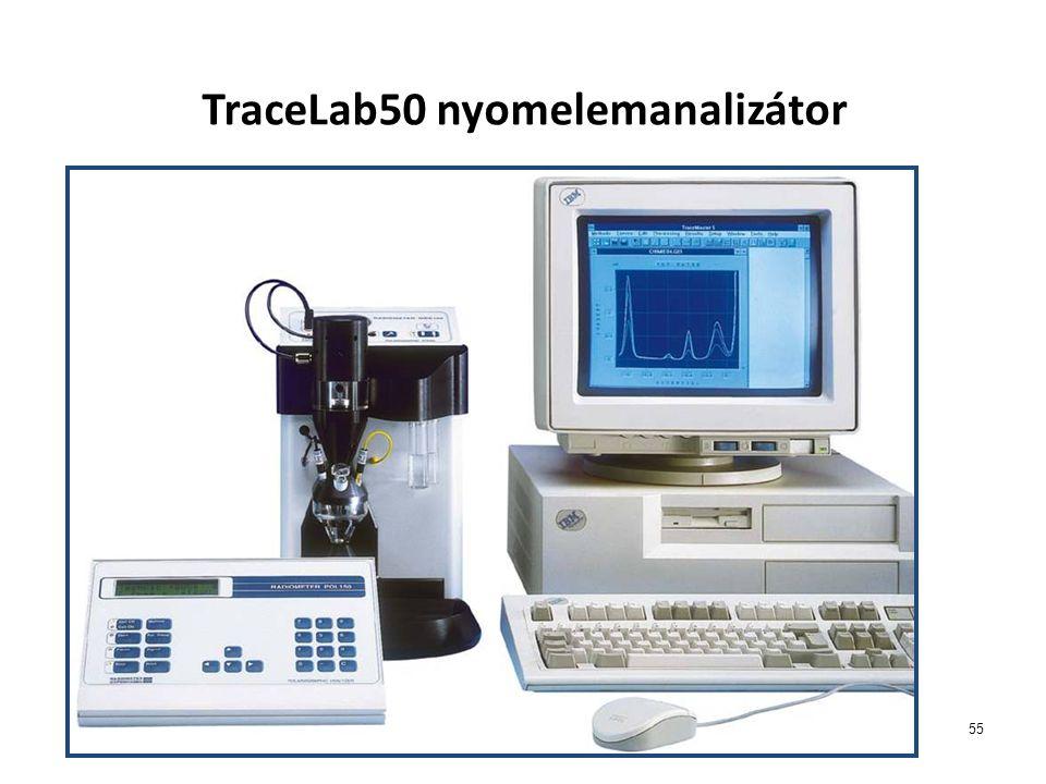 TraceLab50 nyomelemanalizátor