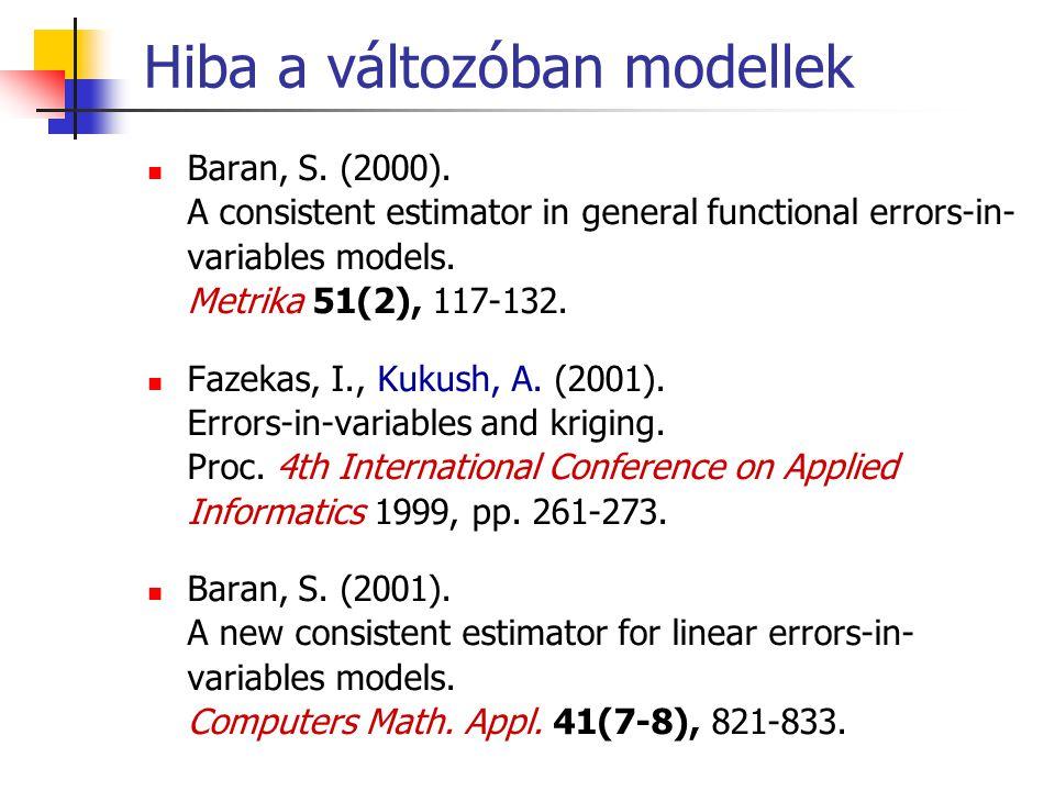 Hiba a változóban modellek