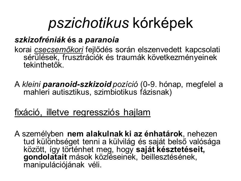 pszichotikus kórképek