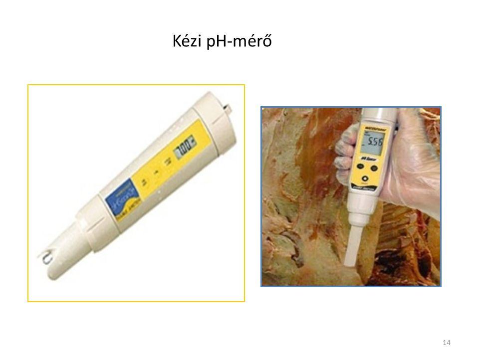 Kézi pH-mérő