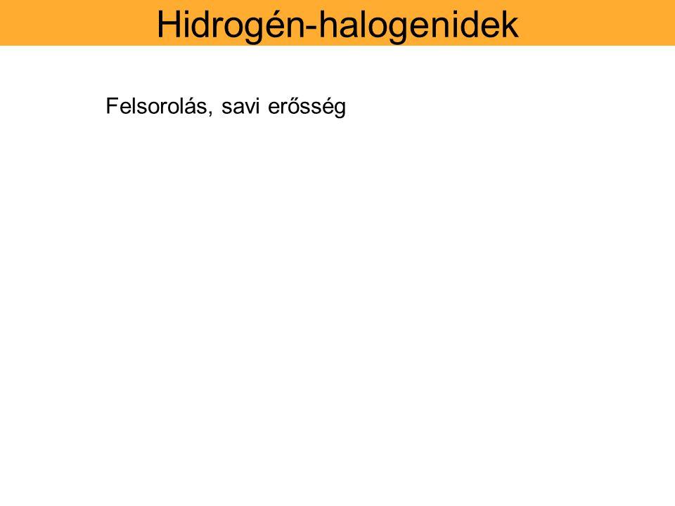 Hidrogén-halogenidek
