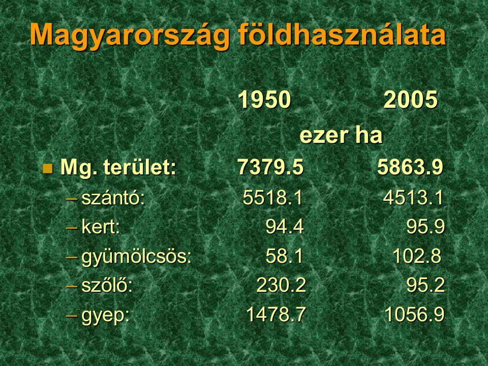 Magyarország földhasználata