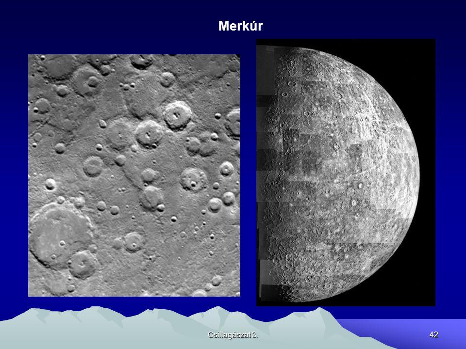 Merkúr Csillagászat 3.