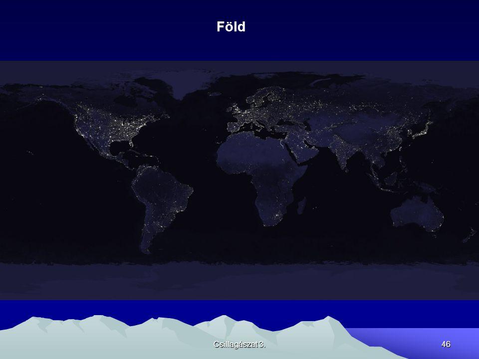 Föld Csillagászat 3.