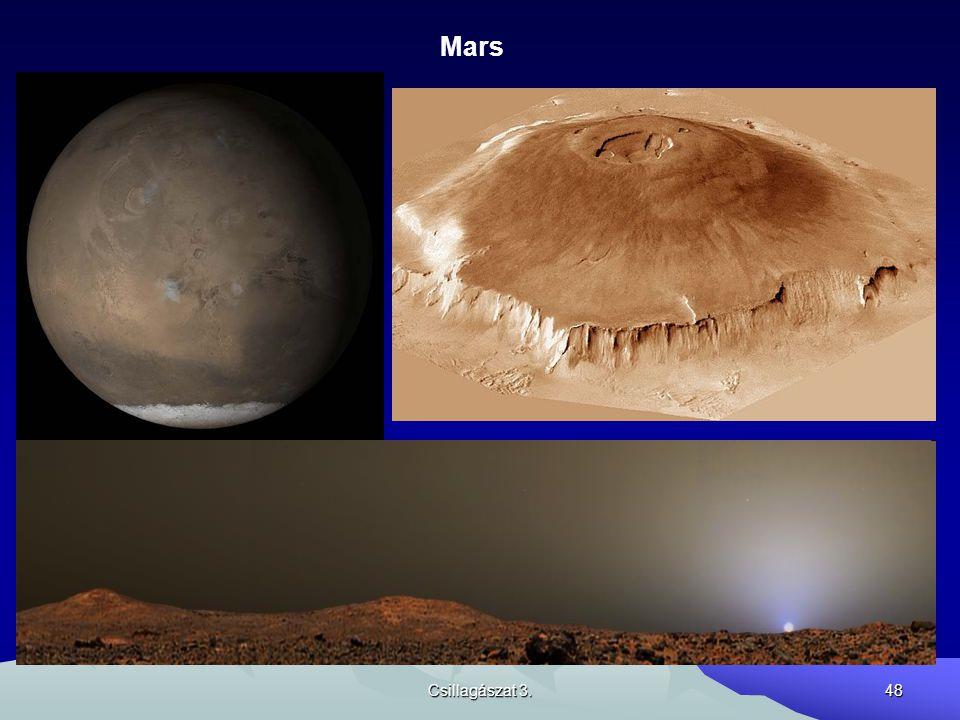 Mars Csillagászat 3.