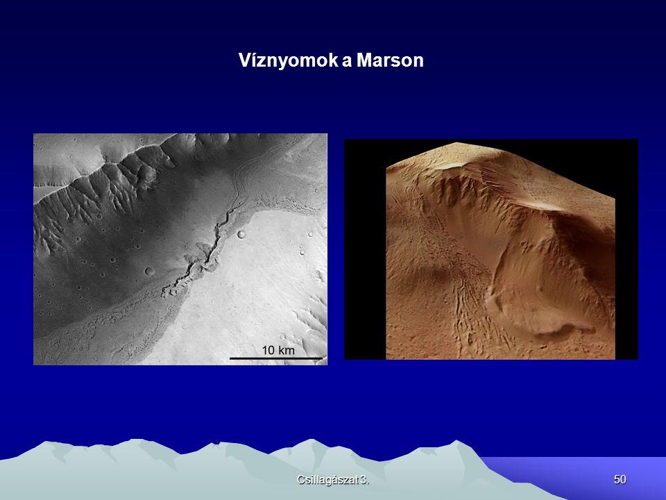 Víznyomok a Marson Csillagászat 3.