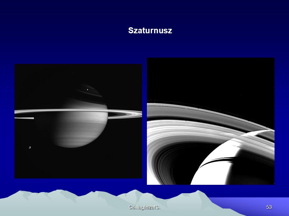 Szaturnusz Csillagászat 3.