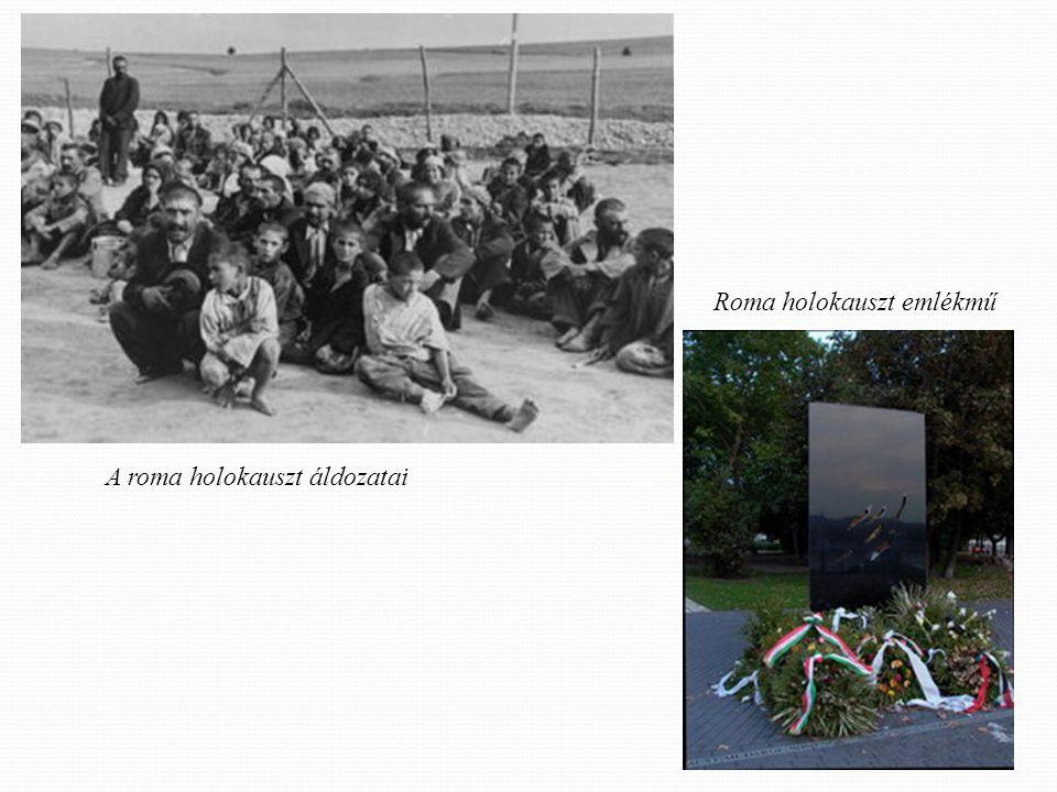 Roma holokauszt emlékmű