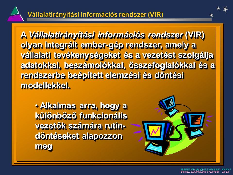 Vállalatirányítási információs rendszer (VIR)