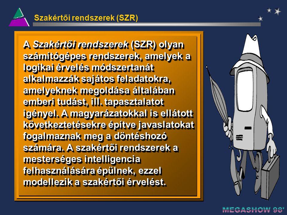 Szakértői rendszerek (SZR)