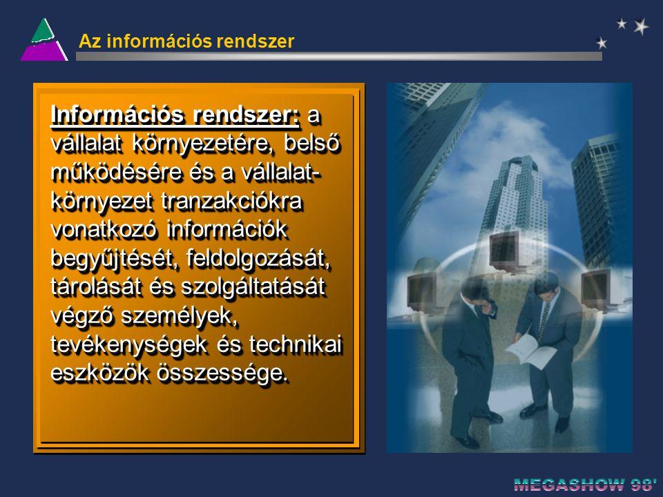 Az információs rendszer