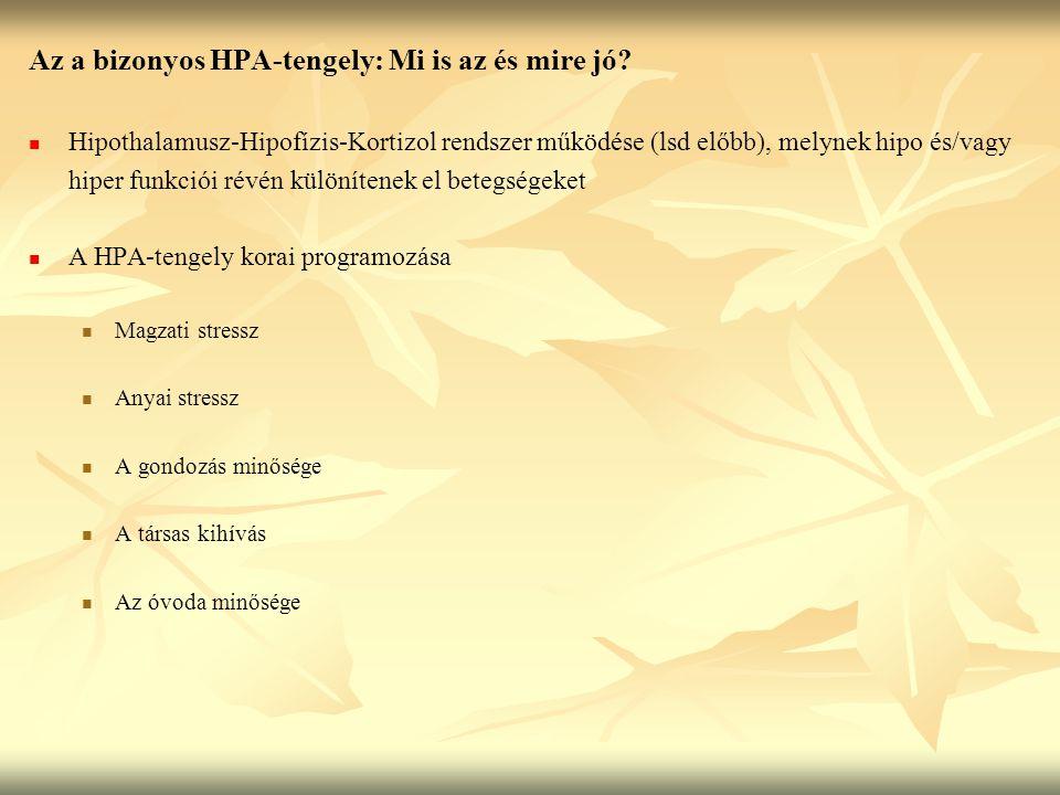 Az a bizonyos HPA-tengely: Mi is az és mire jó