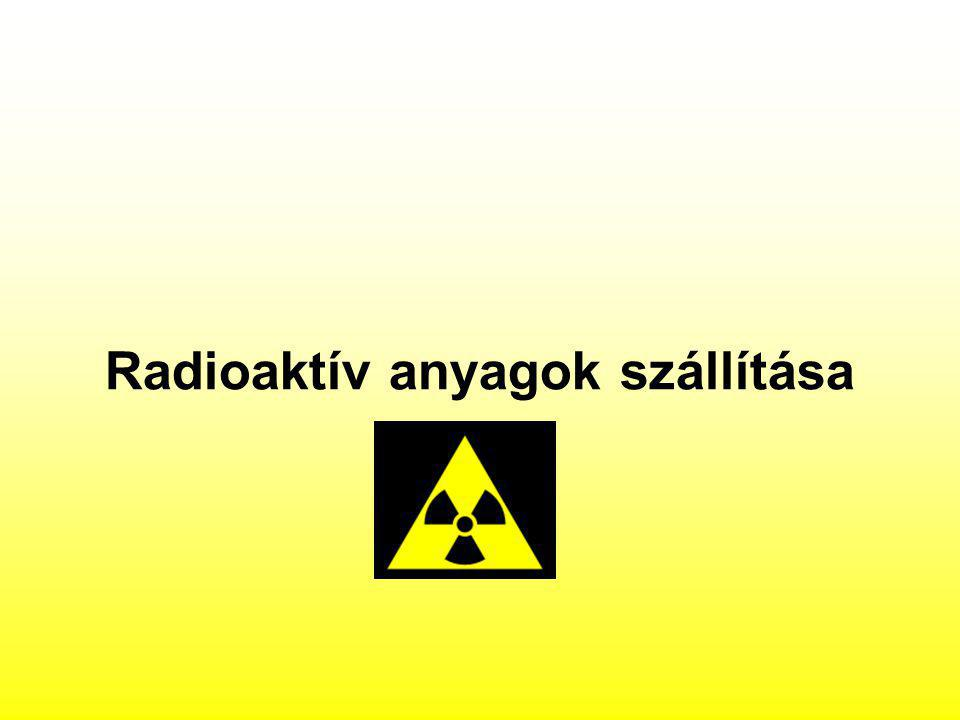 Radioaktív anyagok szállítása